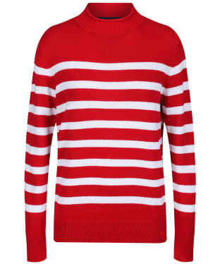 Women's Crew Clothing Twickenham Jumper - Red Stripe
