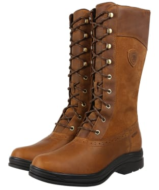 Women's Ariat Wythburn H20 Boots - Weathered Brown