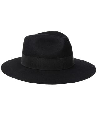 Women's Holland Cooper Trilby Hat - Black