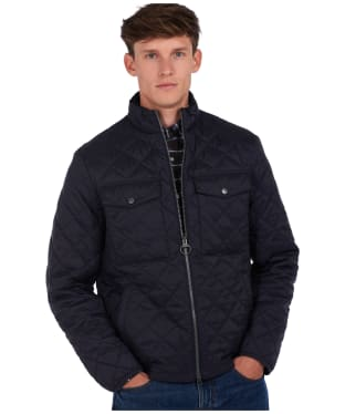 Men's Barbour x National Trust Bitturn Quilted Jacket - Navy