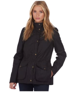 Women's Barbour x National Trust Gibbon Waxed Jacket - Rustic