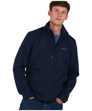 Men's Barbour x National Trust Greglag Waterproof Jacket - Navy