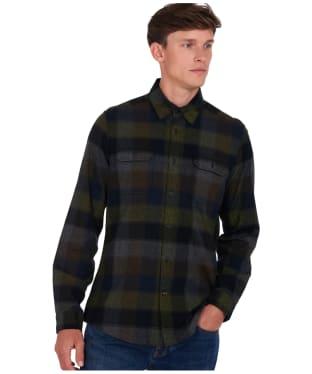 Men's Barbour x National Trust Avenue Shirt - Olive