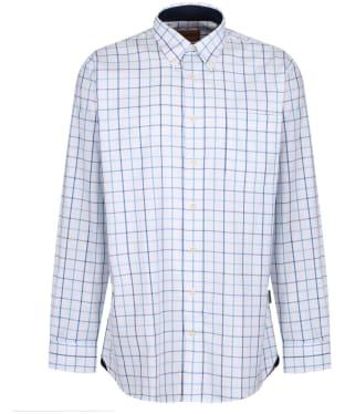 Men's Schoffel Brancaster Shirt - New Blue Check