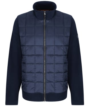 Men's Timberland Tripyramid Hybrid Full Zip Jacket - Dark Navy