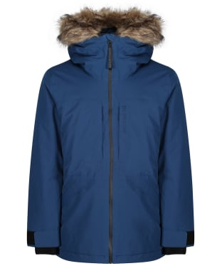 Men's Didriksons Lasse Waterproof Parka - Cold Blue Sea
