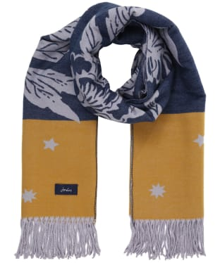 Women's Joules Elissa Scarf - Yellow Floral
