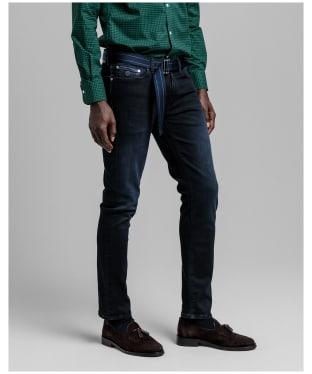 Men's GANT Active-Recover Jeans - Black Vintage
