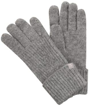 Women's Joules Thurley Gloves - Light Grey Marl