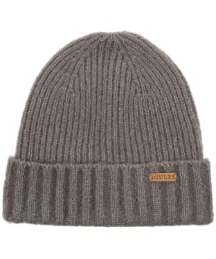 Men's Joules Bamburgh Knitted Hat - Grey Marl