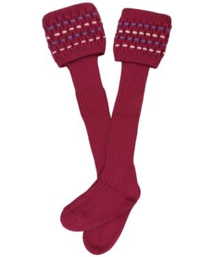 Women's Schöffel Stitch Sock II - Raspberry Purple