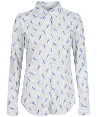 Women's Schoffel Norfolk Shirt - SPRIG COBALT