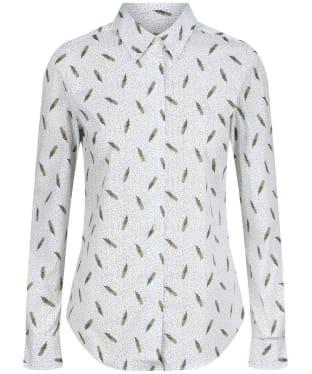 Women's Schoffel Norfolk Shirt - SPRIG CEDAR