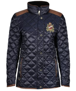 Women's Holland Cooper Diamond Quilted Classic Jacket - Ink Navy