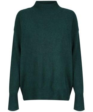 Women's Joules Halton Turtle-Neck Jumper - Dark Green