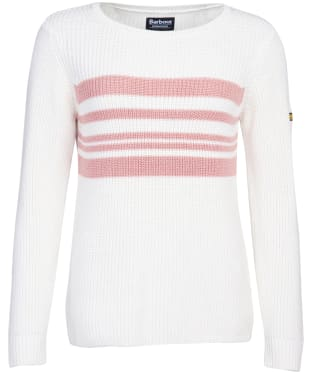 Women's Barbour International Downforce Knit - Off White
