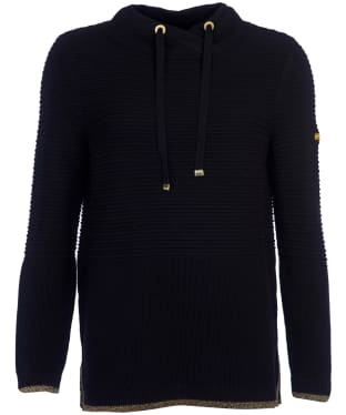 Women's Barbour International Restart Knit - Black