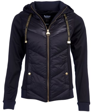 Women's Barbour International Roe Sweatshirt - Black