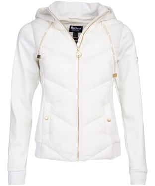 Women's Barbour International Roe Sweatshirt - Cloud