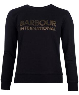 Women's Barbour International Downforce Overlayer - Black