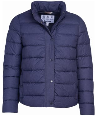 Women's Barbour Piddock Quilted Jacket - Dark Navy