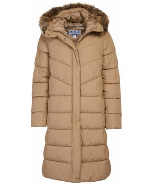 Women's Barbour Sea Whip Quilted Jacket - Sandstone