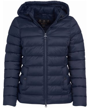 Women's Barbour Shaw Quilted Jacket - Dark Navy