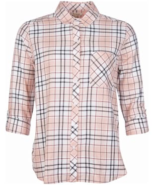 Women's Barbour Shoreside Shirt - Apricot Check