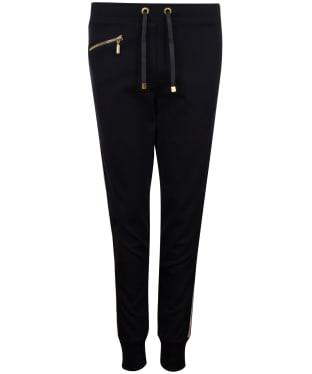 Women's Barbour International Burnout Trousers - Black