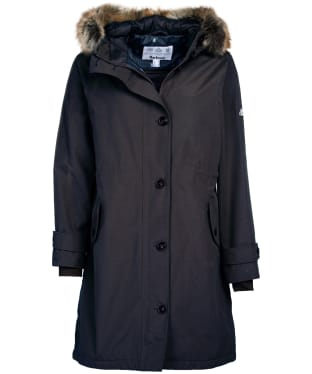Women's Barbour Hollies Waterproof Jacket - Dark Navy