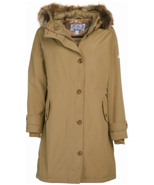 Women's Barbour Hollies Waterproof Jacket - Sandstone
