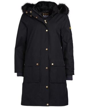 Women's Barbour International Mayer Jacket - Black