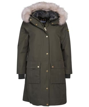 Women's Barbour International Mayer Jacket - Vine
