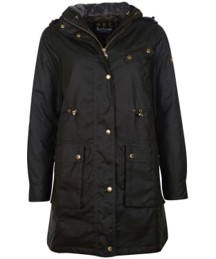 Women's Barbour International Vonn Wax Jacket - Fern