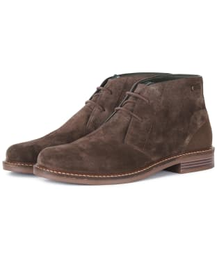 Men's Barbour Readhead Chukka Boots - Cocoa Suede