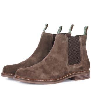 Men's Barbour Farsley Chelsea Boot - Cocoa Suede