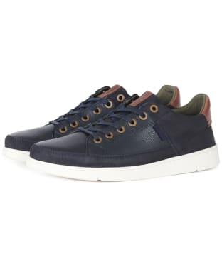 Men's Barbour Bilby Casual Shoes - Navy