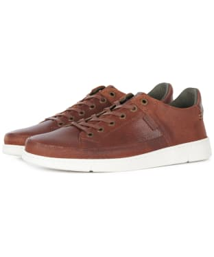 Men's Barbour Bilby Casual Shoes - Cognac