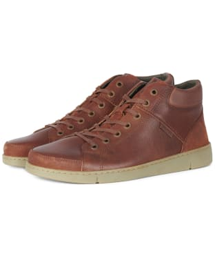 Men's Barbour Musky Ankle Boots - Cognac