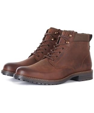 Men's Barbour Wolsingham Derby Boots - Teak