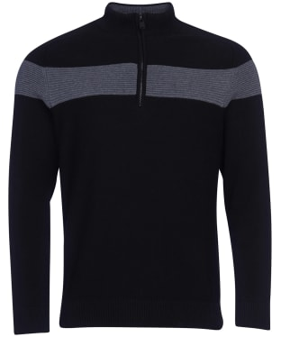 Men's Barbour International Grill Knit - Black