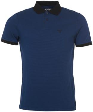 Men's Barbour Glen Polo Shirt - Black