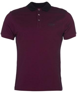 Men's Barbour International Contrast Polo Shirt