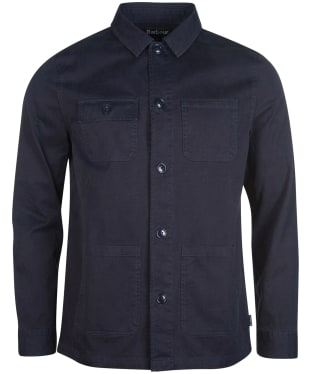 Men's Barbour Balintore Overshirt - Navy