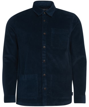 Men's Barbour Cabin Overshirt - Navy
