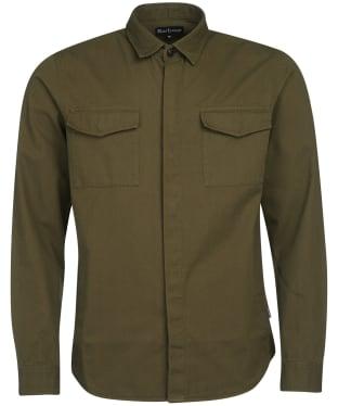 Men's Barbour Moorhouse Overshirt - Olive