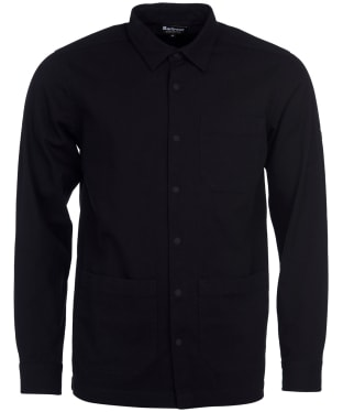 Men's Barbour International Worker Overshirt - Black
