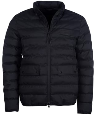 Men's Barbour International Drive Quilted Jacket - Black