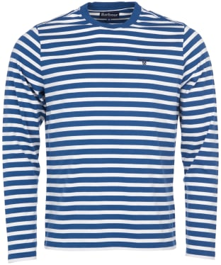 Men's Barbour Matelot Tee - Mid Blue