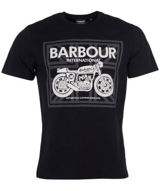 Men's Barbour International Igniter Tee - Black